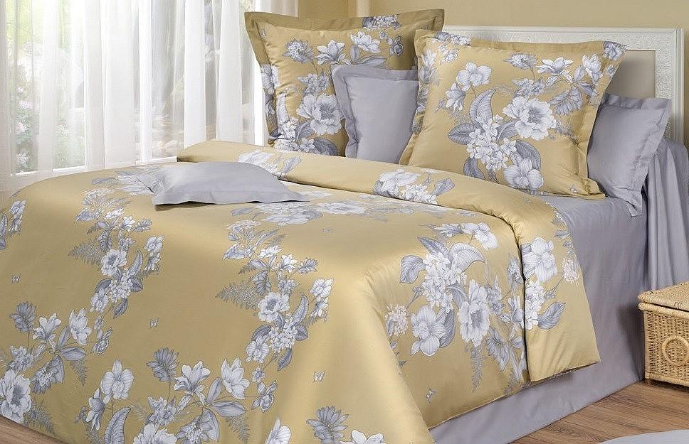 Комплект постельного белья из мако-сатина Swan Swara Cotton Dreams