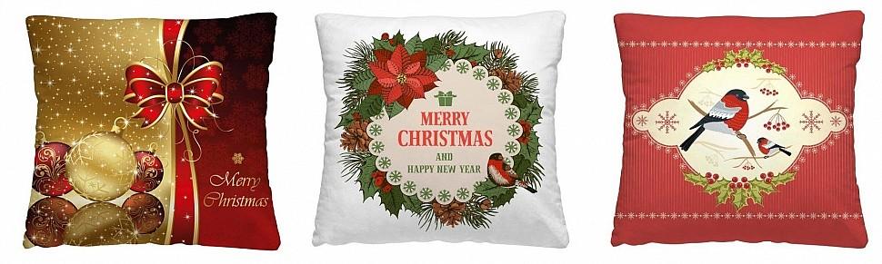 Выбрать декоративные подушки Новый 2021 год Нордтекс