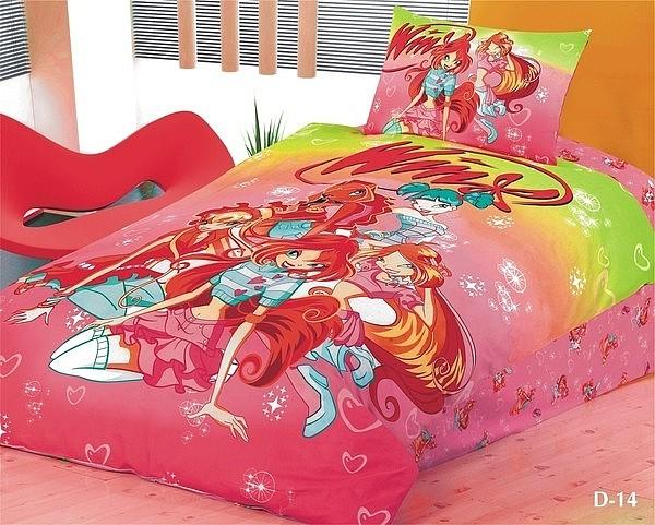 Комплект постельного белья мако-сатин люкс D14 Stile Tex