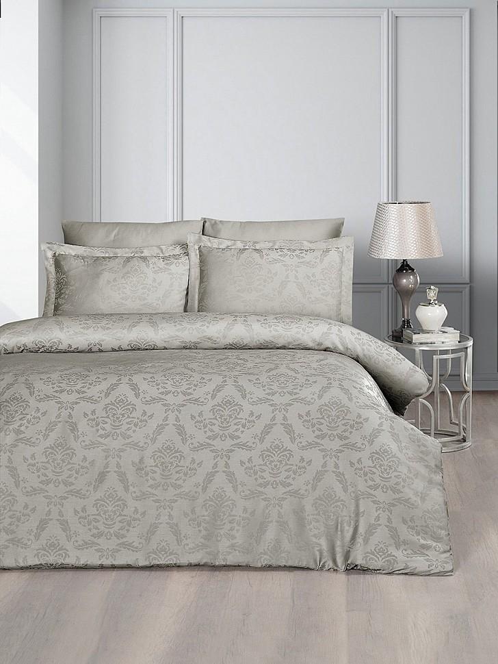 Комплект постельного белья Karna Benoit визон
