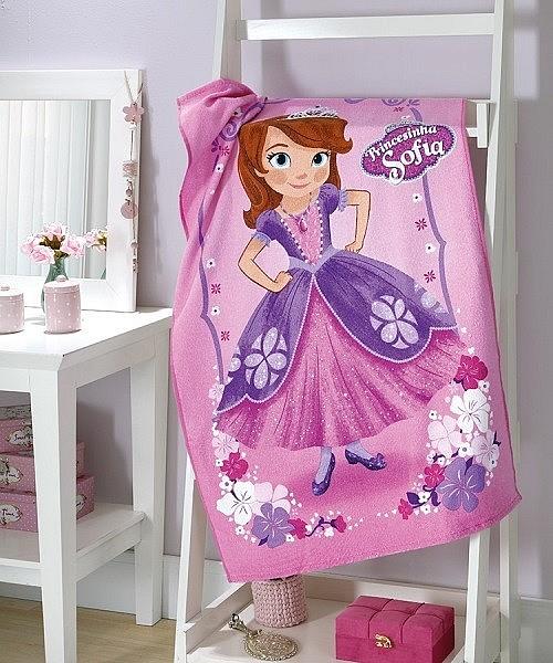 Полотенце махровое Принцесса София Döhler розовый