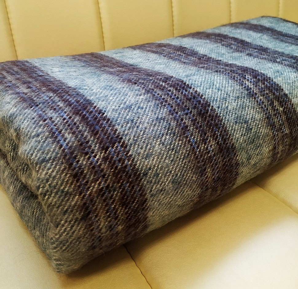 Одеяло-плед полушерстяное Sukno