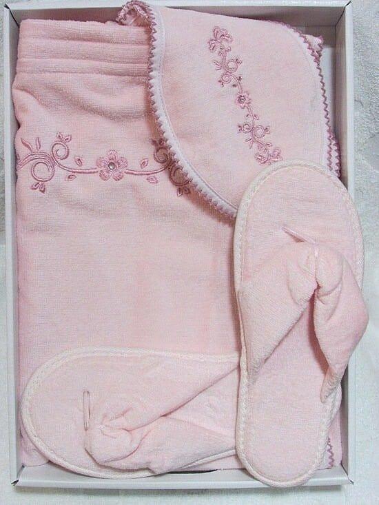 Набор для сауны женский Belle Maison Dor розовый