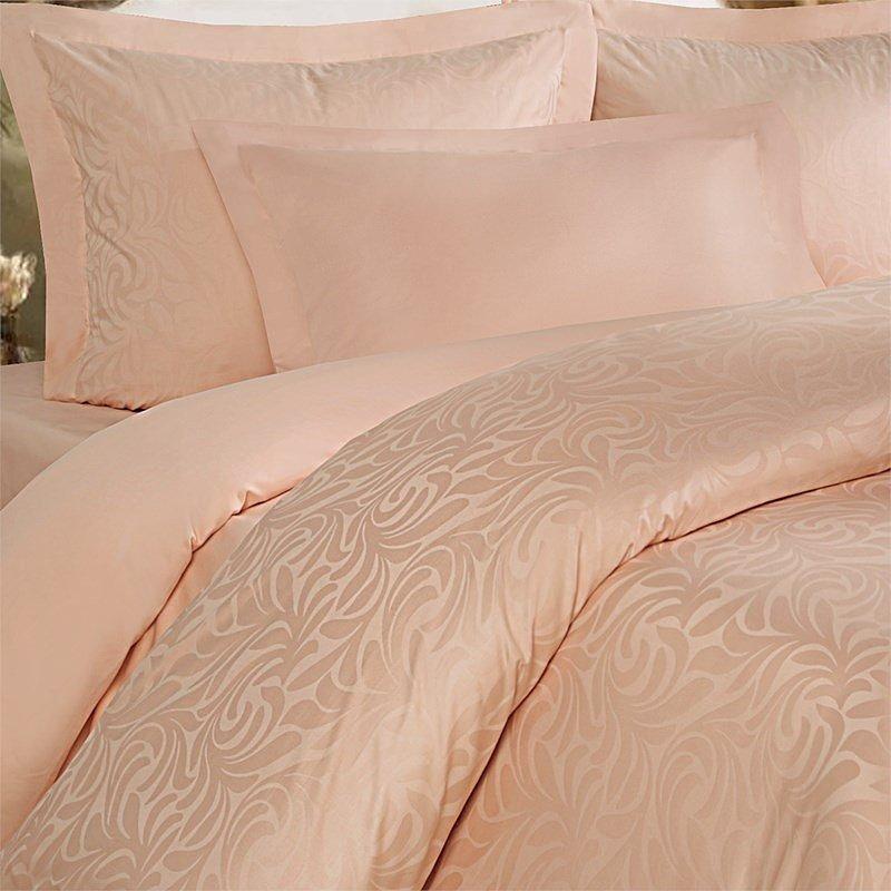 Комплект постельного белья Волна Кремовая