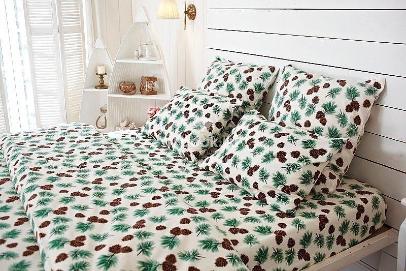 Комплект постельного белья Шишки
