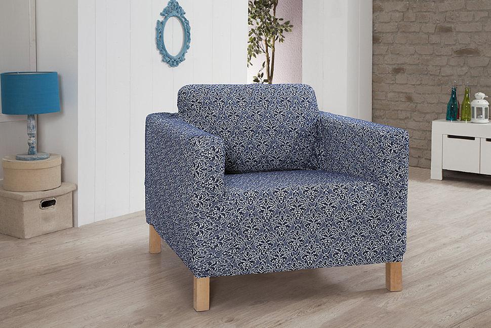 Чехол для кресла Verona синий