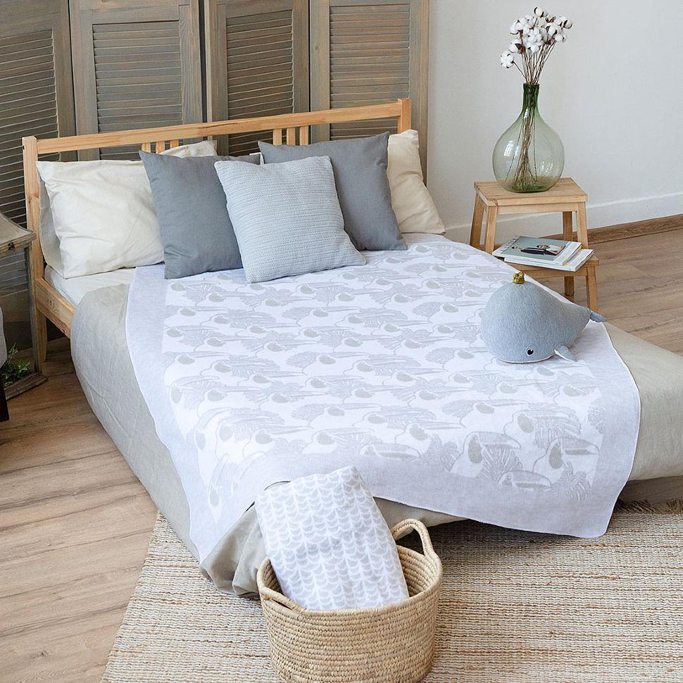 Одеяло байковое Премиум Туканы Ермолино