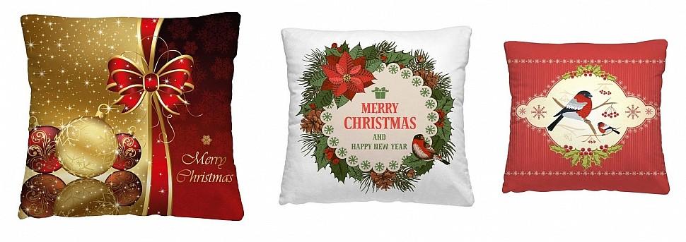 Выбрать и заказать интерьерные подушки для новогоднего интерьера