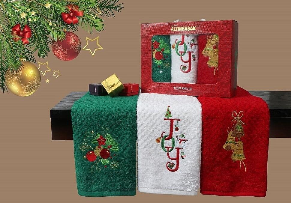 Купить новогодний текстиль недорого