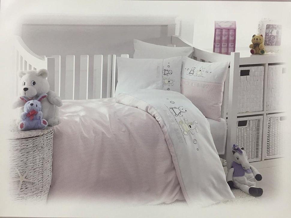 Комплект детского постельного белья Lamite Maison Dor розовый