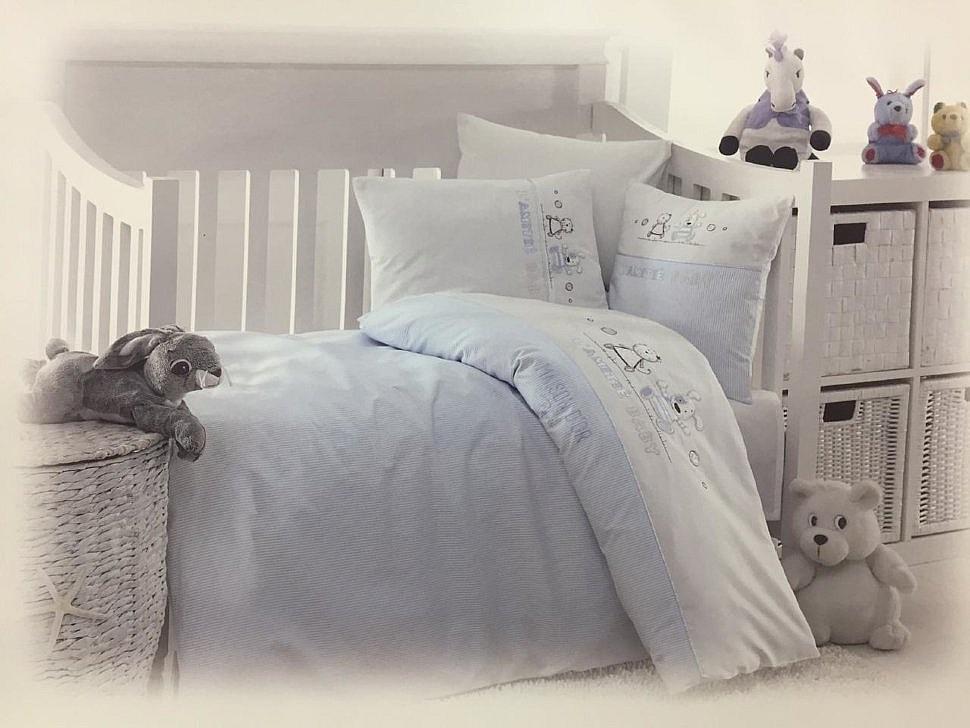 Комплект детского постельного белья Lamite Maison Dor голубой