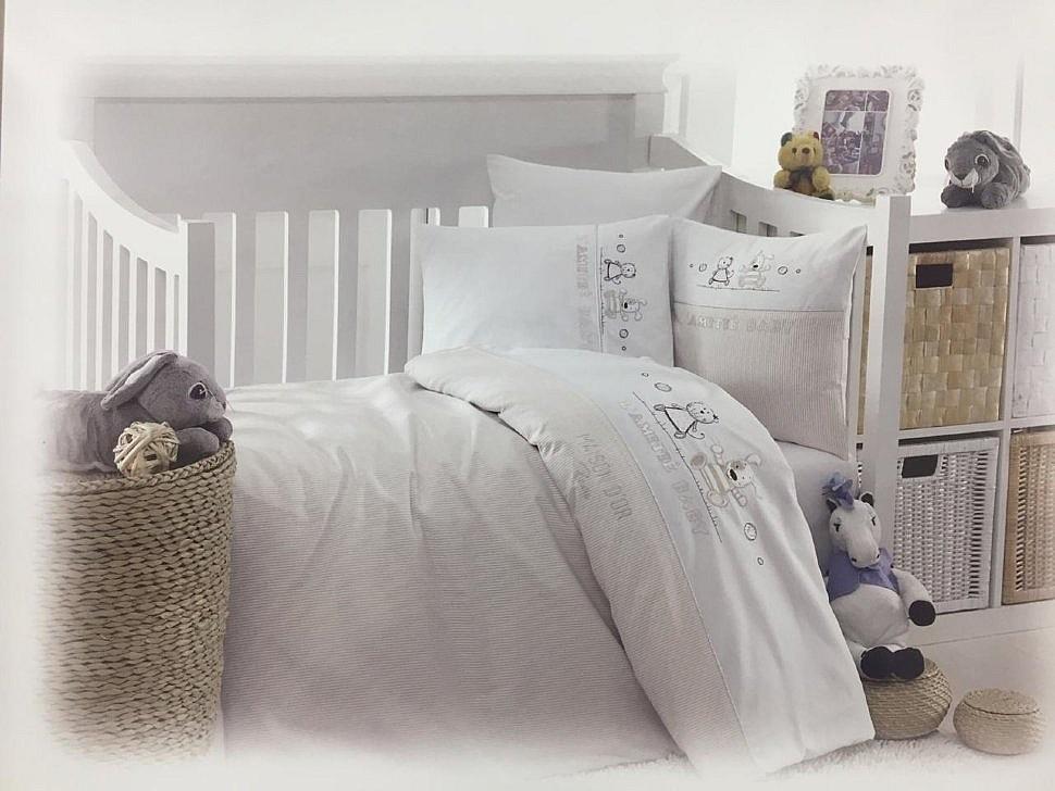 Комплект детского постельного белья Lamite Maison Dor бежевый