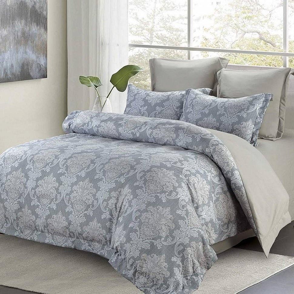 Комплект постельного белья с одеялом Октавия Sofi De Marko серый