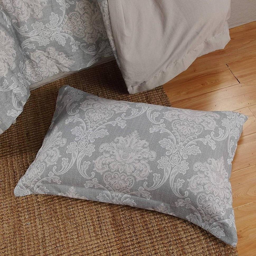 Комплект постельного белья с одеялом Октавия Sofi De Marko серыйКомплект постельного белья с одеялом Октавия Sofi De Marko серый