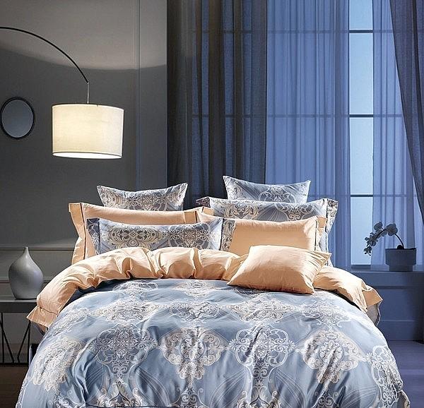 Комплект постельного белья мако-сатин люкс Н-212 Stile Tex