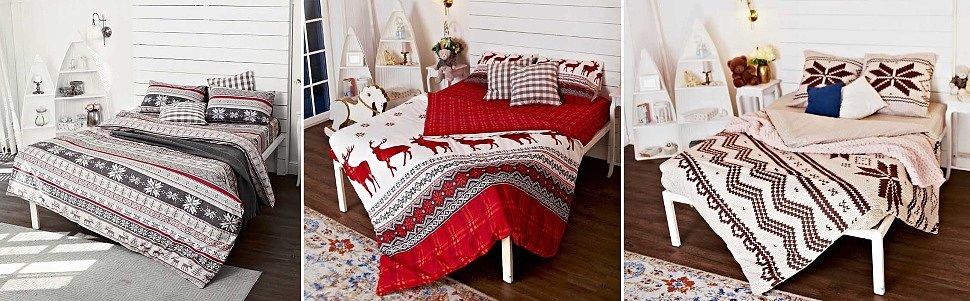 Выбрать комплект постельного белья из фланели
