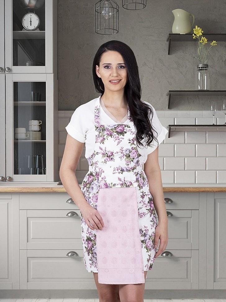Фартук кухонный Karna пудра