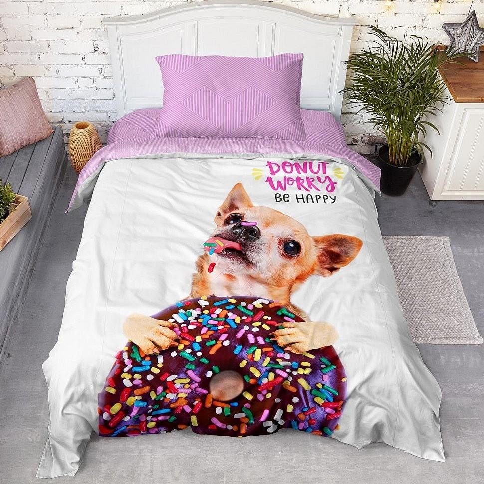 Комплект постельного белья Dreams Панно Donut 4YOU