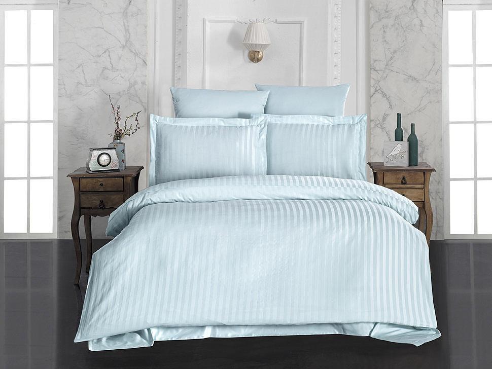 Комплект постельного белья Karna Perla зеленый