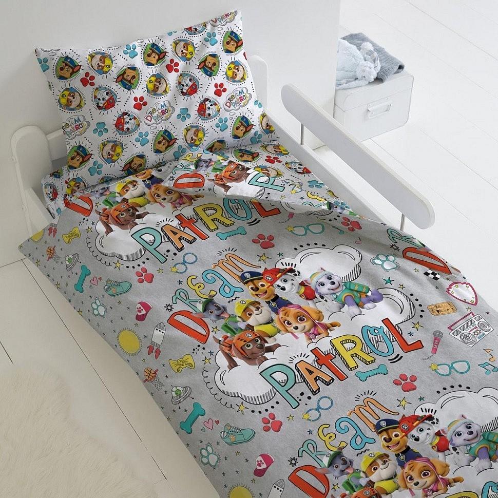 Комплект постельного белья Патруль мечты Щенячий патруль Лицензии