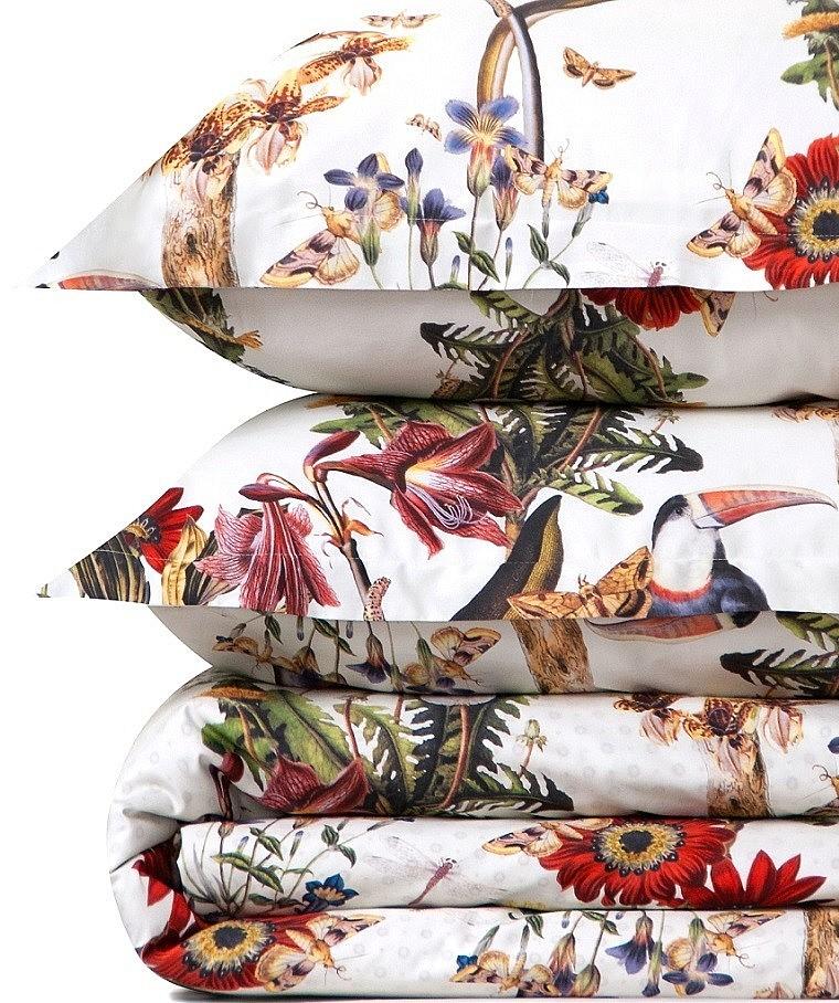 Комплект постельного белья из мако-сатина Tropicana Cotton Dreams