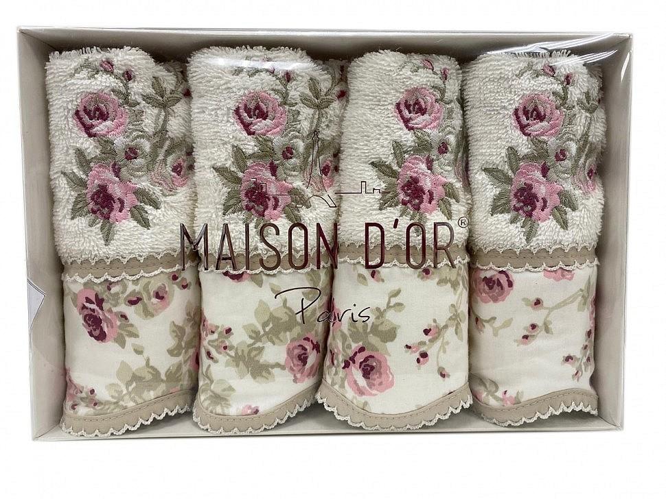 Салфетки махровые Maison D'or Lady Roses крем